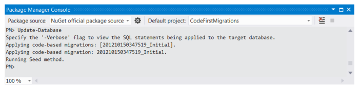Update Database