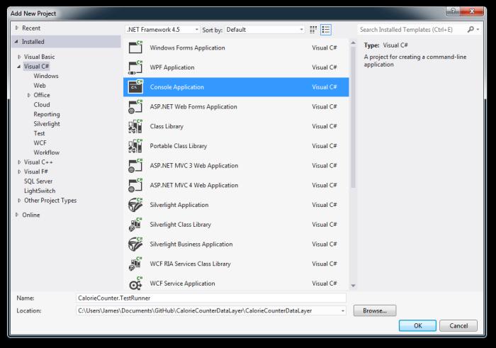 Setup Console App Project